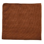"Rubbermaid 1863891 16"" Executive Multi-Purpose Microfiber Towel - Brown"