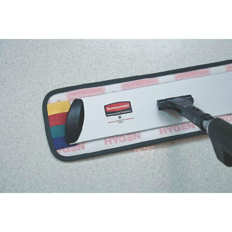 Rubbermaid 1863895 Executive Multi-Purpose Microfiber Wet Mop Pad - Single-Sided Flat