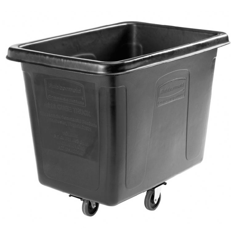 Rubbermaid 1867537 Executive Cube Truck - 16-cu ft, Quiet Castors
