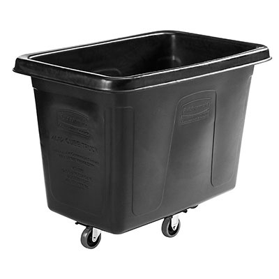 Rubbermaid 1867538 Executive Cube Truck - 12-cu ft, Quiet Castors