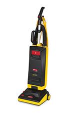 "Rubbermaid 1868440 12"" Manual Height Upright Vacuum - Black"