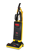 "Rubbermaid FG9VMH150000 15"" Manual Height Upright Vacuum - Black"