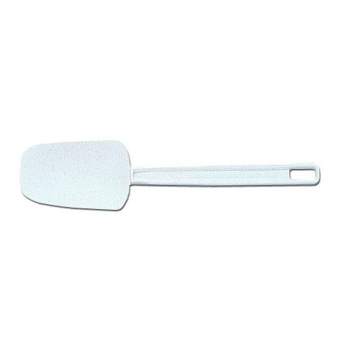 "Rubbermaid FG193400WHT 13-1/2"" Spoon Spatula - White"