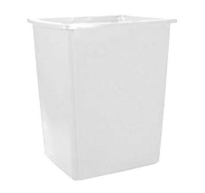 Rubbermaid FG256B00OWHT 56-gal Glutton Garbage Container - Off-White