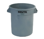 Rubbermaid FG261000GRAY 10-gal Round BRUTE Container - Gray