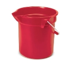 Rubbermaid FG261400RED 14-qt BRUTE Bucket - Red