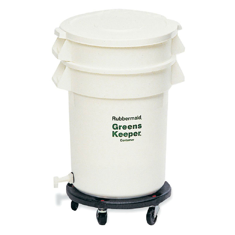 Rubbermaid Fg263600wht 32 Gal Prosave Brute Container With