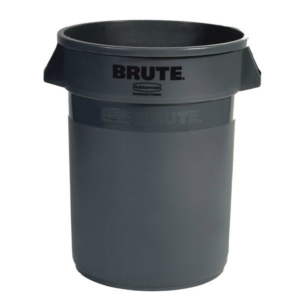Rubbermaid FG263200GRAY 32-gal ProSave BRUTE Container - Gray