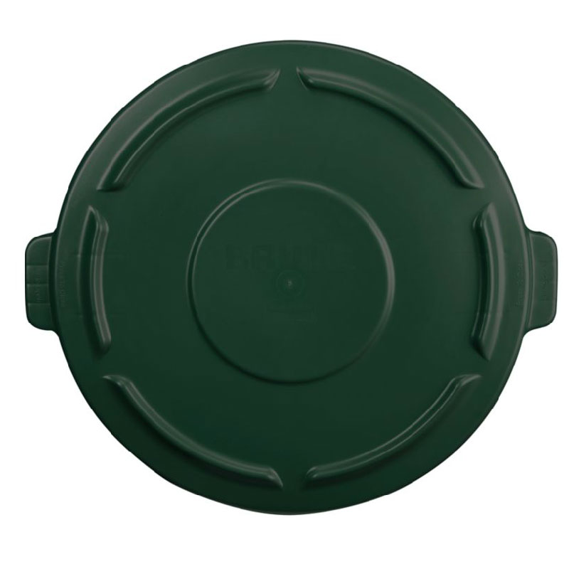 Rubbermaid 264560DGRN 44-gal BRUTE Container Lid - Dark Green