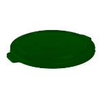 "Rubbermaid FG263100DGRN 22-1/4"" BRUTE Container Lid - Dark Green"