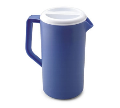 Rubbermaid FG3063PRPERI 1 Gallon Economy Pitcher Periwinkle Restaurant Supply