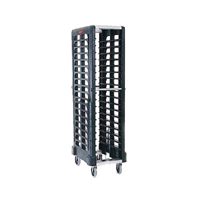 "Rubbermaid FG331700OWHT Max System Rack - 18 Slot End-Loader, 23-3/4x18-5/8x67-7/8"" Off-White"