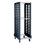 "Rubbermaid FG332000BLA Max System Rack - 18 Slot Side-Loader, 23-3/4x18-5/8x67-7/8"" Black"