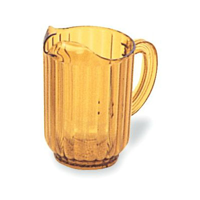 Rubbermaid FG333800GOLD 60-oz Bouncer Pitcher - Gold Poly
