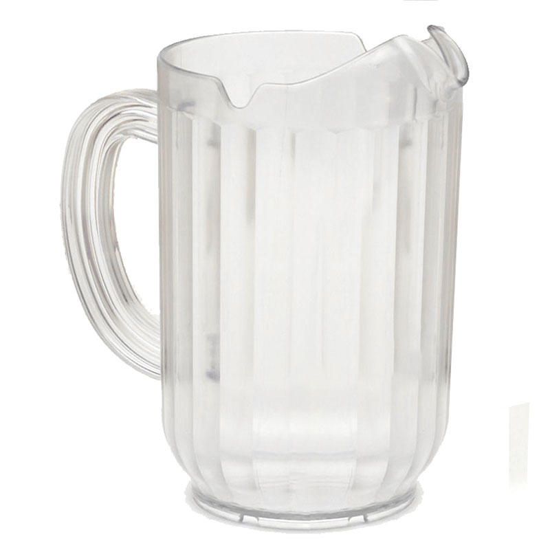 Rubbermaid FG333800CLR 60-oz Bouncer Pitcher - Clear Poly