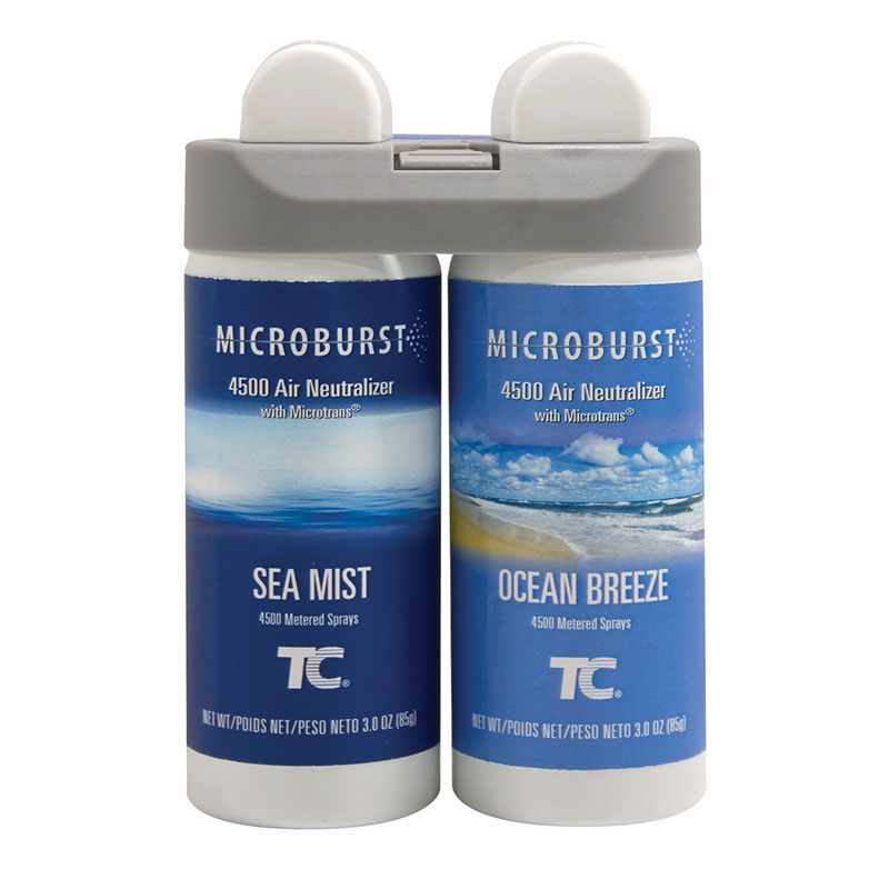 Rubbermaid 3485951 Microburst Duet Refill - Ocean Breeze/Sea Mist