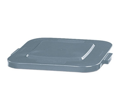 Rubbermaid FG352700GRAY 28-gal Square BRUTE Container Lid - Gray