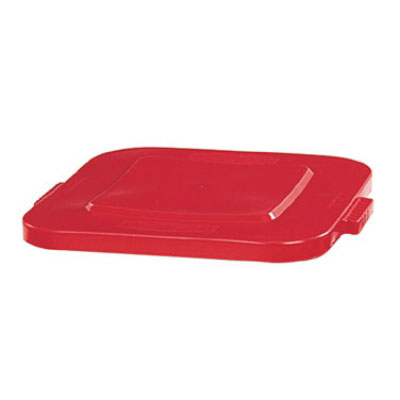 Rubbermaid FG352700RED 28-gal Square BRUTE Container Lid - Red