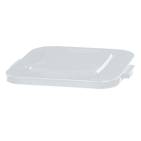 Rubbermaid FG352700WHT 28-gal Square BRUTE Container Lid - White