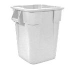 Rubbermaid FG353600WHT 40-gal Square BRUTE Container - White