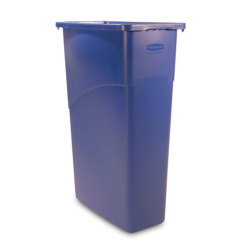 Rubbermaid FG354000BLUE 23-gal Slim Jim Waste Container - Blue