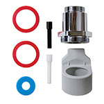 Rubbermaid 401165 Sidemount Adaptor Crane Valve Adaptor Kit - AutoFlush