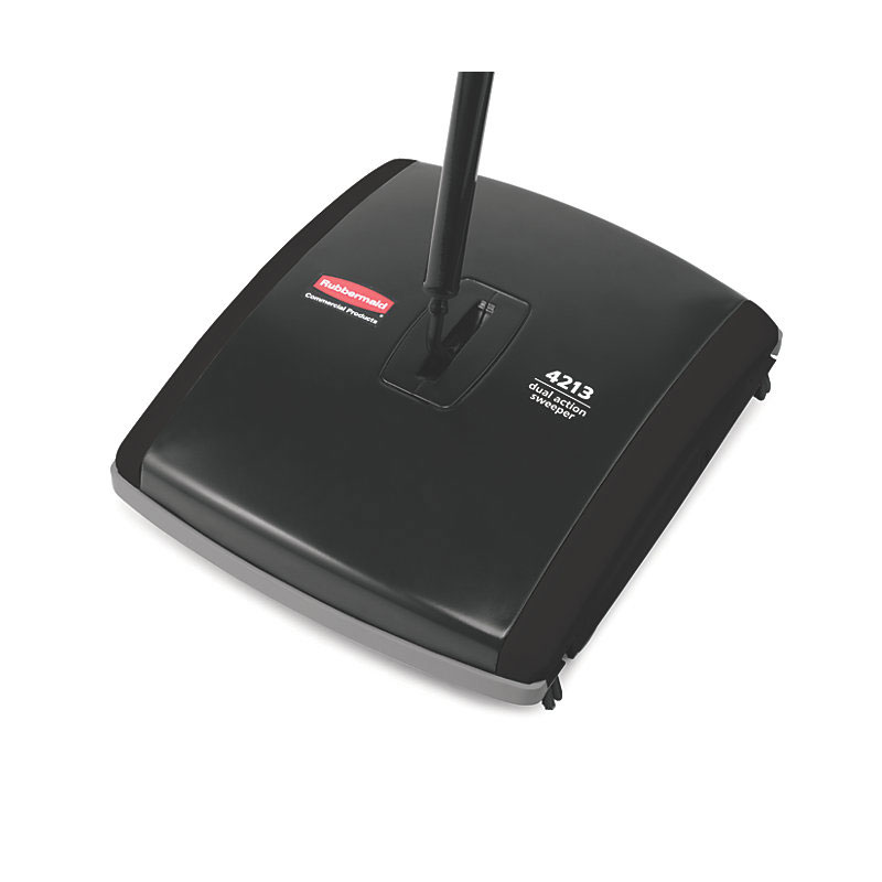 Rubbermaid FG421388BLA Executive Dual-Action Bristle Mechanical Sweeper