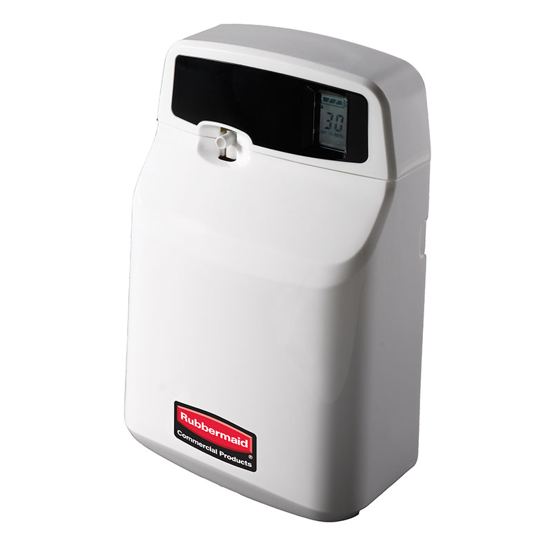 Rubbermaid FG516900OWHT SeBreeze Aerosol Programmable Odor Control Unit - Off-White