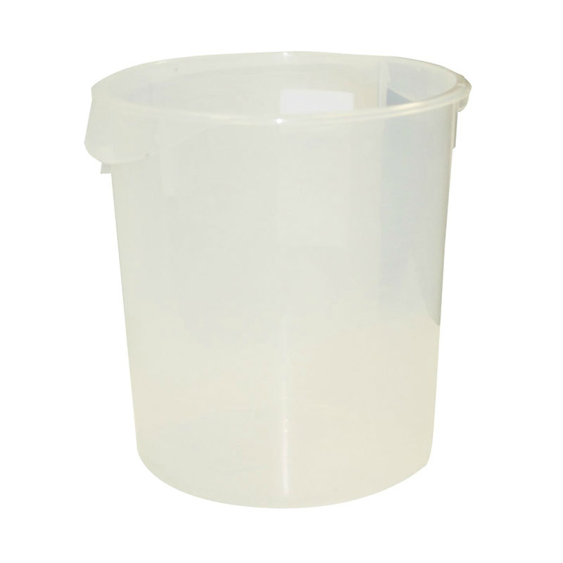 Rubbermaid FG572824CLR 22-qt Round Storage Container - Clear Poly