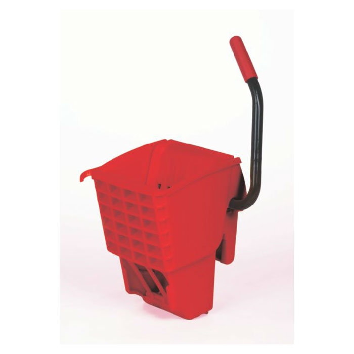 Rubbermaid FG612788RED WaveBrake Wringer - 12-32-oz Mop Capacity, Side Press, Red