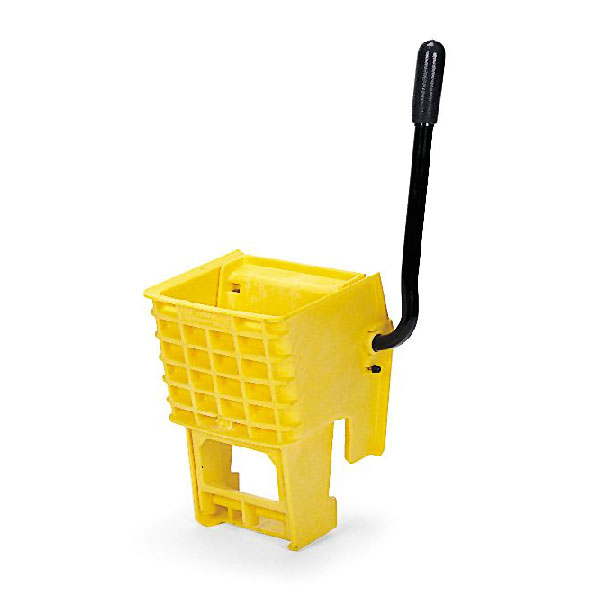 Rubbermaid FG612788YEL WaveBrake Wringer - 12-32-oz Mop Capacity, Side Press, Yellow
