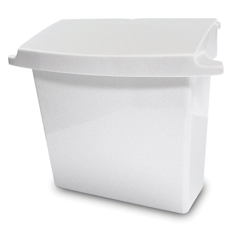 Rubbermaid FG614000WHT Sanitary Napkin Receptacle - White