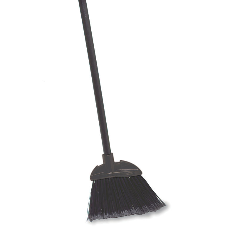 Rubbermaid FG637400BLA Executive Lobby Broom - Vinyl Handle