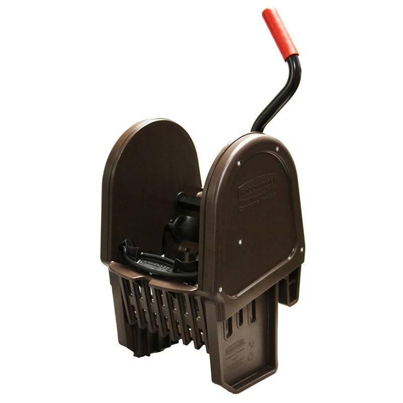Rubbermaid FG757588BRN WaveBrake Wringer - 16-32-oz Mop Capacity, Down Press, Brown
