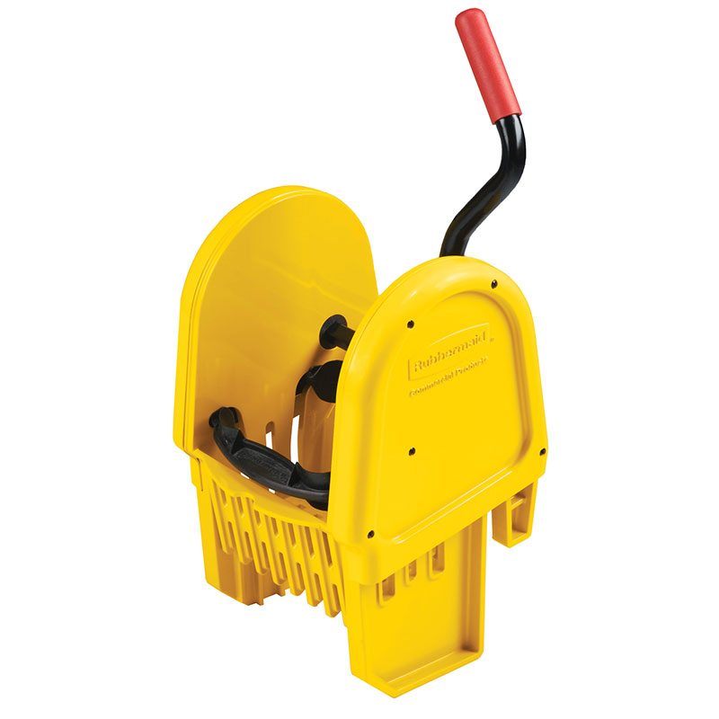 Rubbermaid FG757588YEL WaveBrake Wringer - 16-32-oz Mop Capacity, Down Press, Yellow