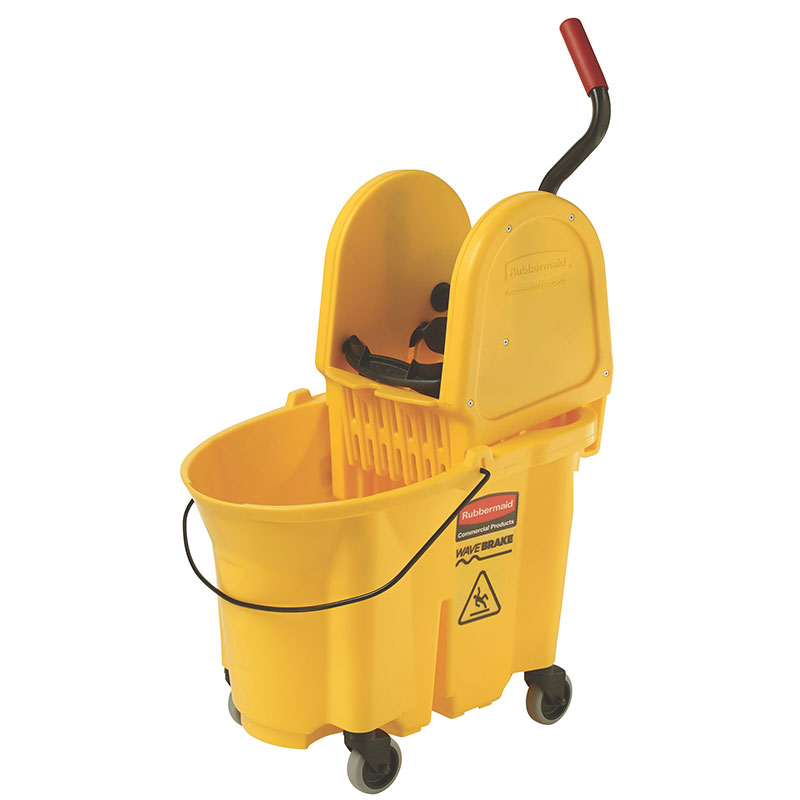 Rubbermaid FG757788YEL WaveBrake Mopping System Combo Pack - Yellow