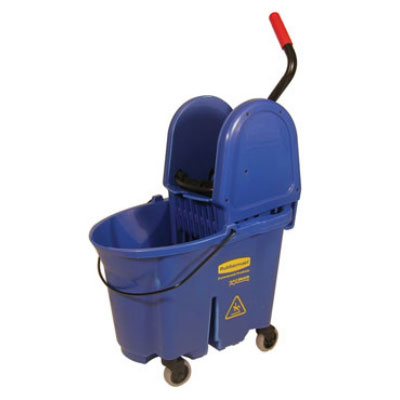 Rubbermaid FG757888BLUE 35-qt WaveBrake Specialty Mopping Combo - Down Press, Blue