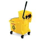 Rubbermaid FG758088YEL WaveBrake Mopping Combo Pack - Yellow