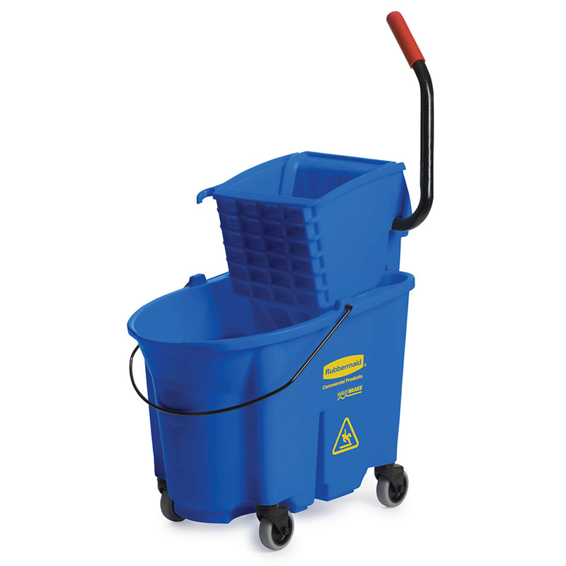 Rubbermaid FG758888BLUE 35-qt WaveBrake Specialty Mopping Combo - Side Press, Blue