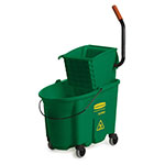 Rubbermaid FG758888GRN 35-qt WaveBrake Specialty Mopping Combo - Side Press, Green