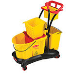 Rubbermaid FG778000YEL 35-qt WaveBrake Mopping System - Side Press, Yellow