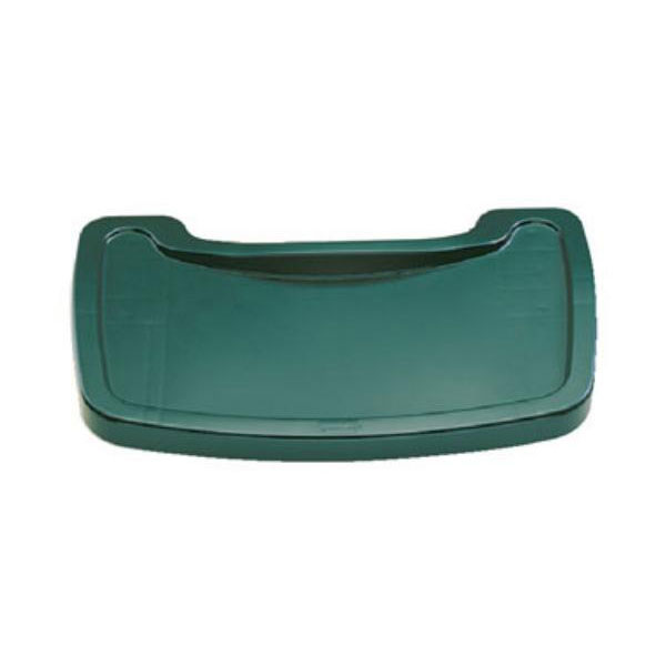 Rubbermaid FG781588DGRN Tray for Sturdy Chair Youth Seat, Dark Green
