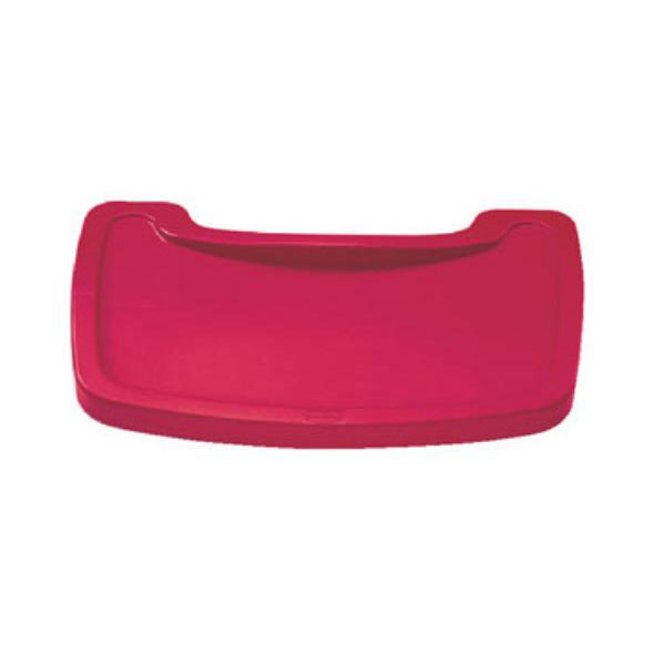 Rubbermaid FG781588RED Tray for Sturdy Chair Youth Seat, Red