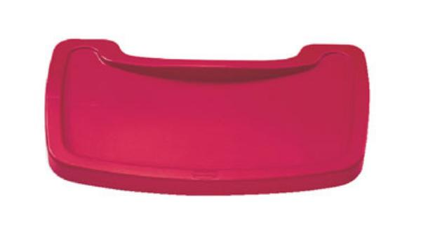 Rubbermaid FG781588RED Sturdy Chair Youth Seat Tray - Red