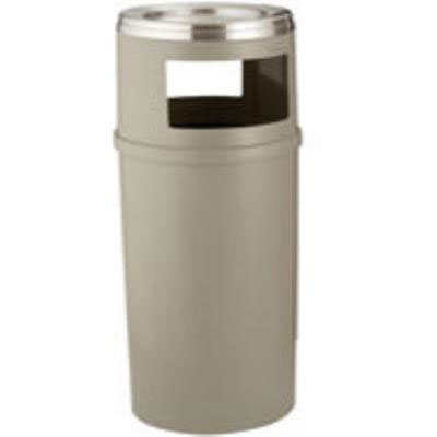 Rubbermaid FG818288BEIG Trash Can Top Cigarette Receptacle - Decorative Finish