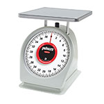 Rubbermaid FG840W Pelouze Portion Scale - Counter Model, Red Lens, 40-lb x 2-oz, Steel