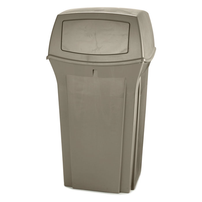 Rubbermaid FG843088BEIG 35-gal Ranger Classic Container - Beige