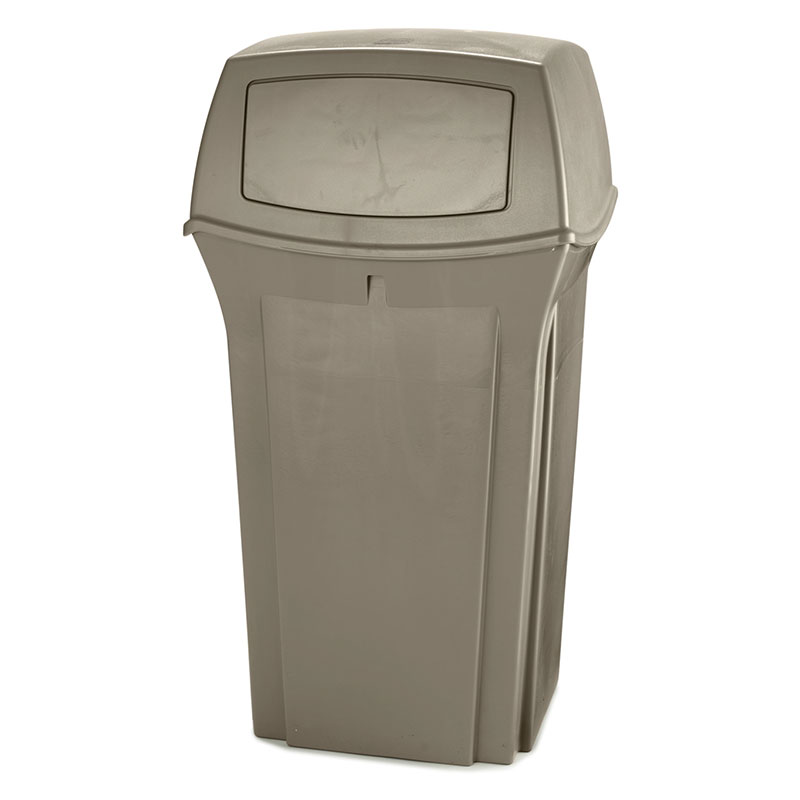 Rubbermaid FG843088BLA 35-gal Ranger Classic Container - Black