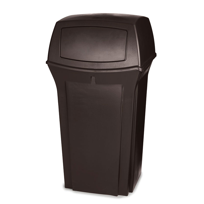 Rubbermaid FG843088BRN 35-gal Ranger Classic Container - Brown