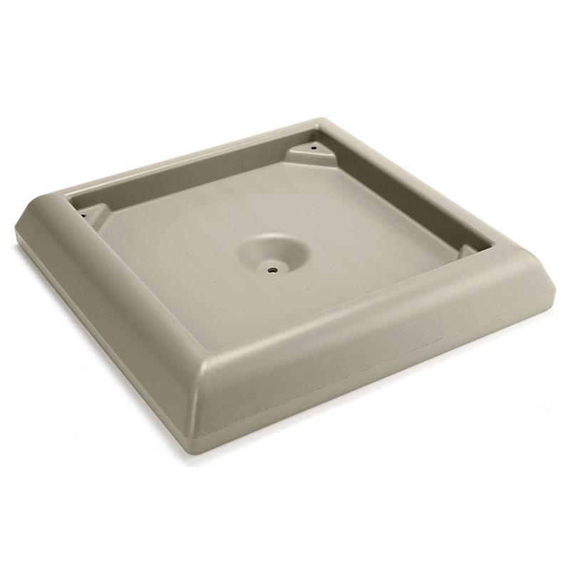 Rubbermaid FG917700BEIG Ranger Container Weighted Base Accessory - Beige